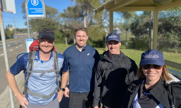 When love came to town: Hunter Valley heroes walk length of northern beaches