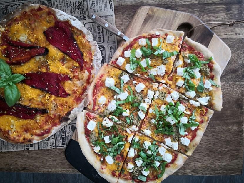 Pizzaa vegaanille