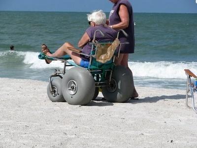 Best Beaches Near Orlando - ADA Beach Access