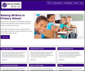 Wendy Skelton mobile friendly wordpress website
