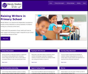 Wendy Skelton mobile friendly wordpress website