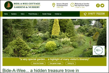 New Bide-a-Wee Cottage website by Beach Hut studio