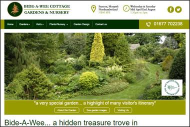 New Bide-a-Wee Cottage website by Beach Hut studio