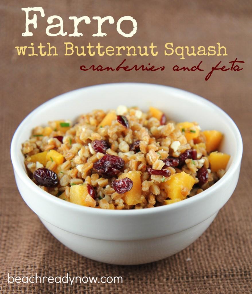 Farro with Butternut Squash