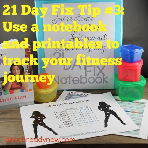 21 Day Fix Tip #3