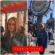 San Francisco:  1996 and 2016