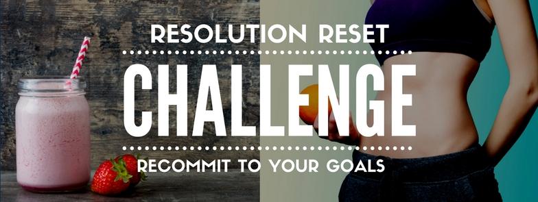 Resolution Reset Challenge