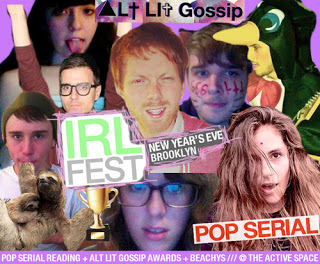 IRL FEST is New Year's Eve in Brooklyn!!!