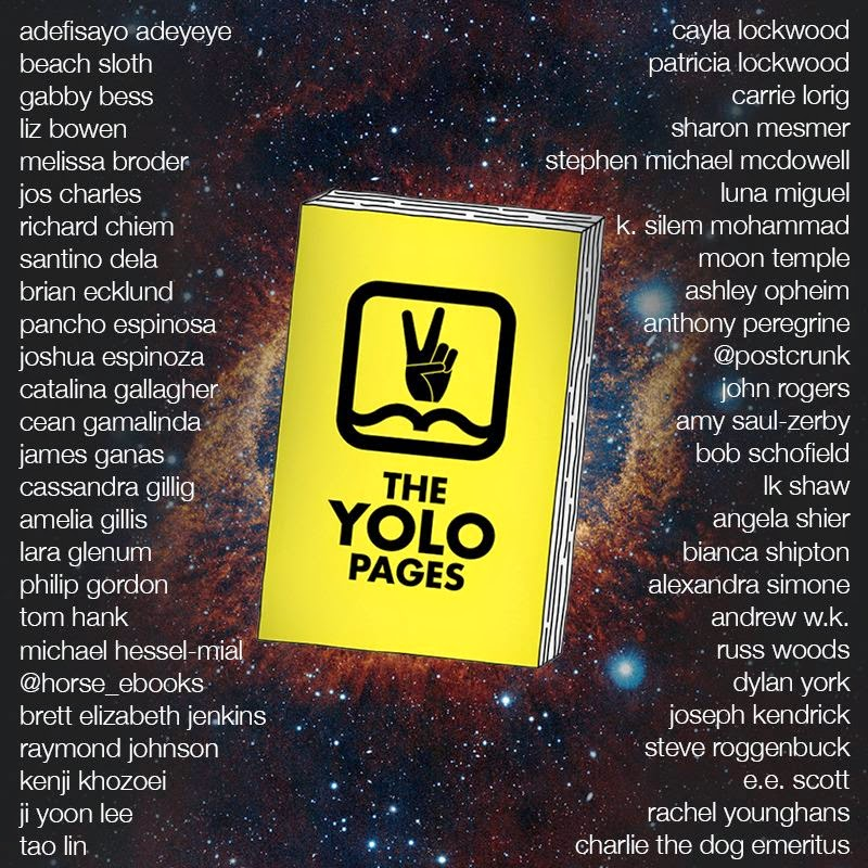 THE YOLO PAGES RELEASE PARTY IN BROOKLYN
