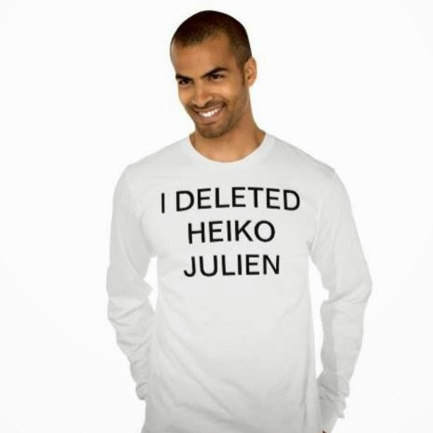 I DELETED HEIKO JULIEN – THE T-SHIRT