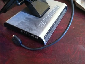 HP xb4 Laptop Stand and Docking Station $30