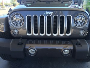 LED Halo Headlights Installed on Jeep Wrangler JKU