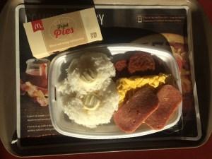 McDonalds Local Deluxe, The Best Breakfast in Hawaii