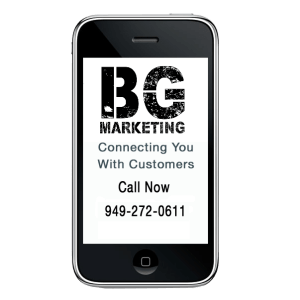 smart phone bg marketing