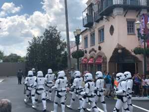 Stormtroopers leaving to test Gondolas?