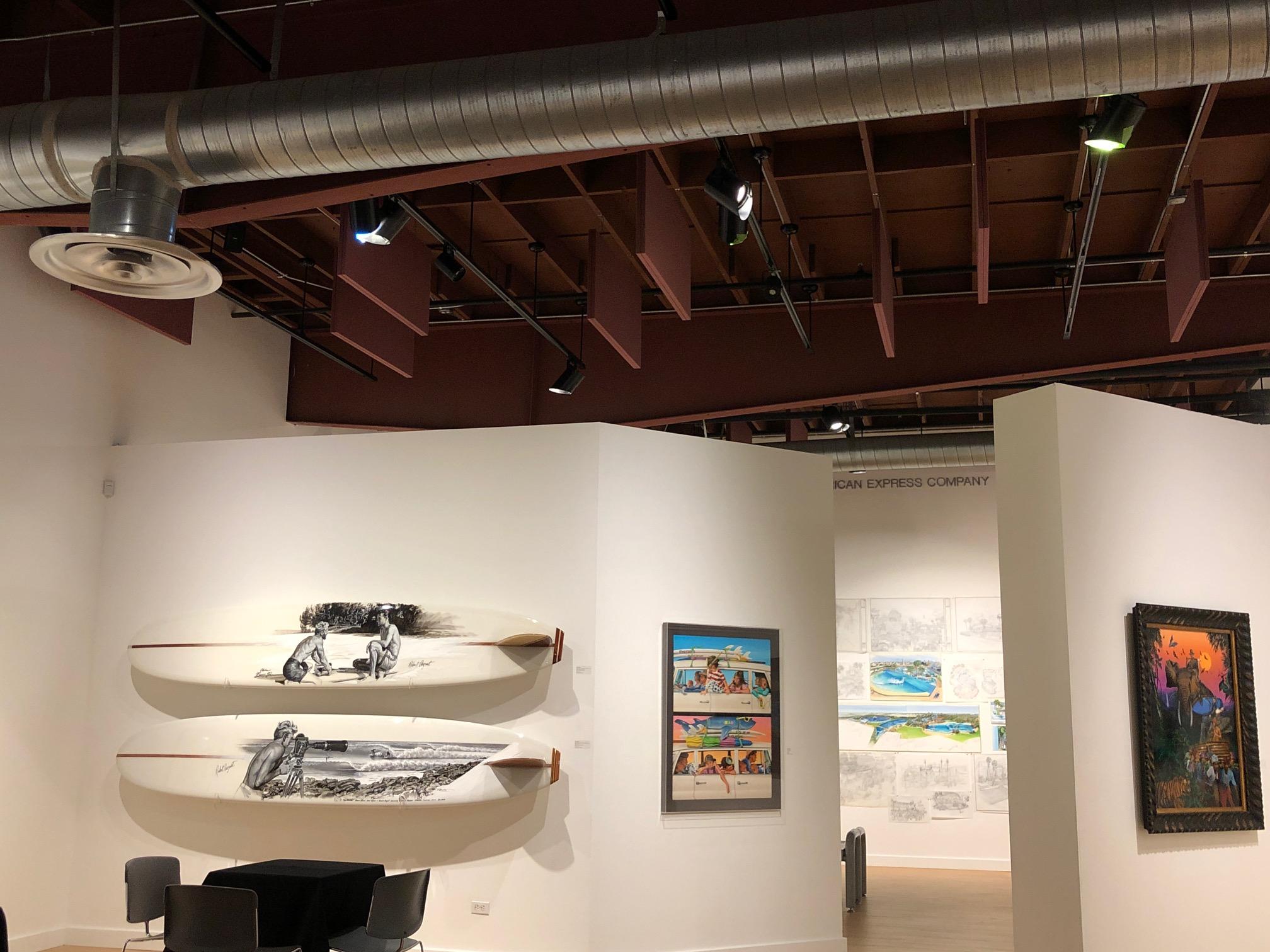 Robert August Surfboard Art