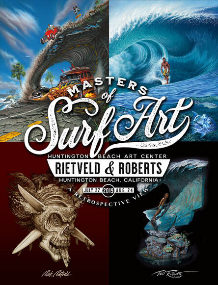 Masters Of Surf Art Poster