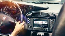 Air Cooled Porsches go touchscreen