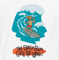 Earlybum.com Gets the Wave Shirt