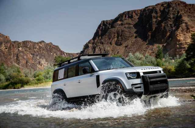 Land Rover Defender Back In US