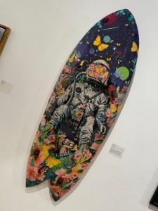 Up and Coming Surf Art Show Artist David Krovblit