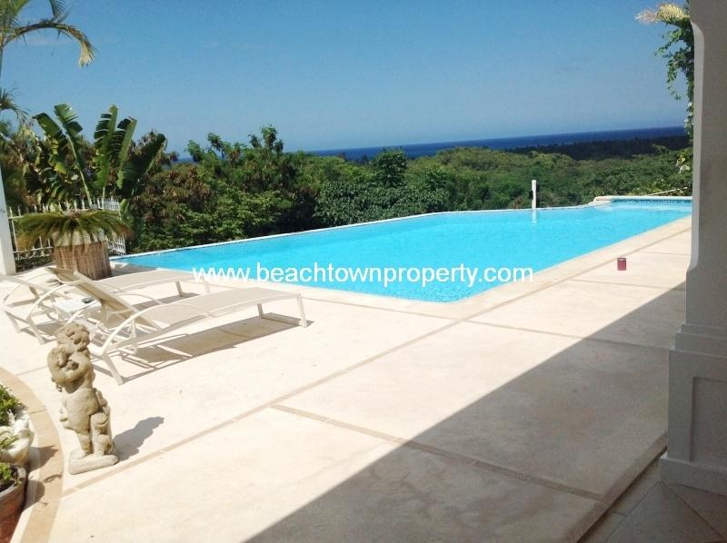 Ocean view Villa Las Terrenas Samana Dominican Republic