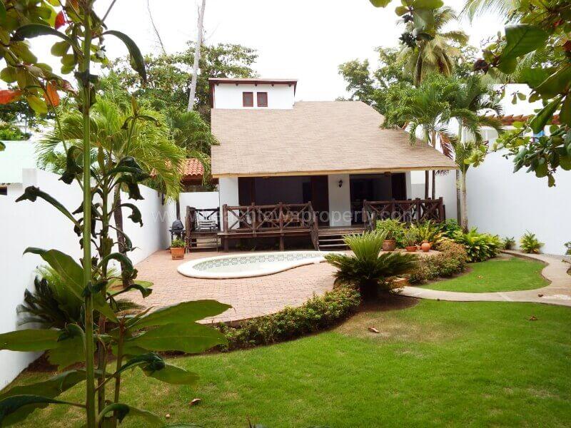 Las Terrenas Samana House for sale near Beach