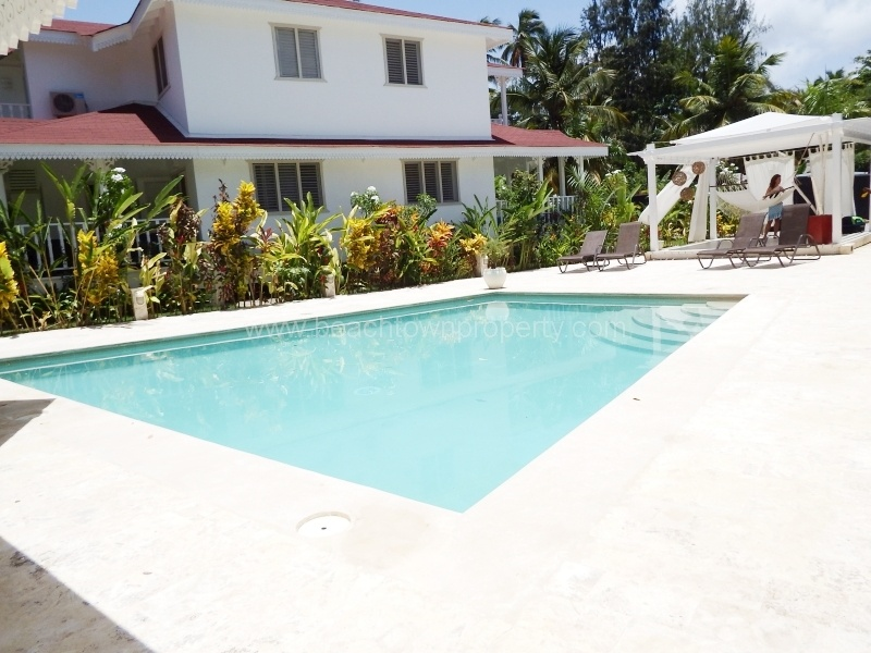Furnished 2 bed Caribbean Villa with pool Dominican Republic