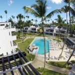 Luxury beach front apartment in gated community in Las Terrenas