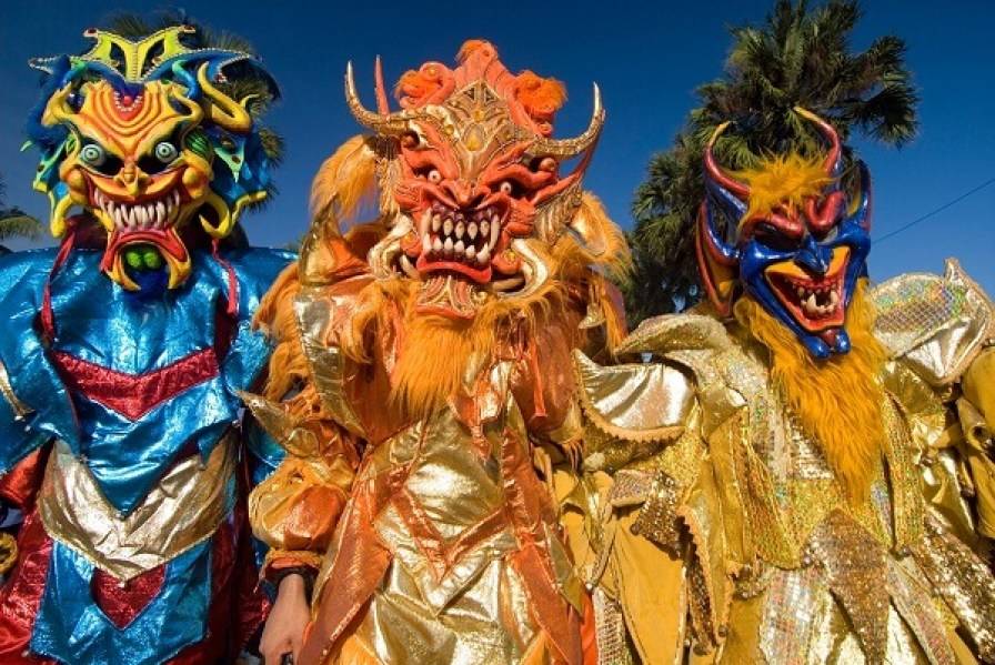 Carnival in Santo Domingo.