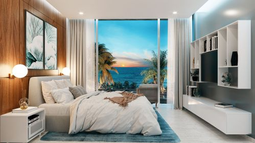 Emma and Elissa Playa Realtors living bedroom
