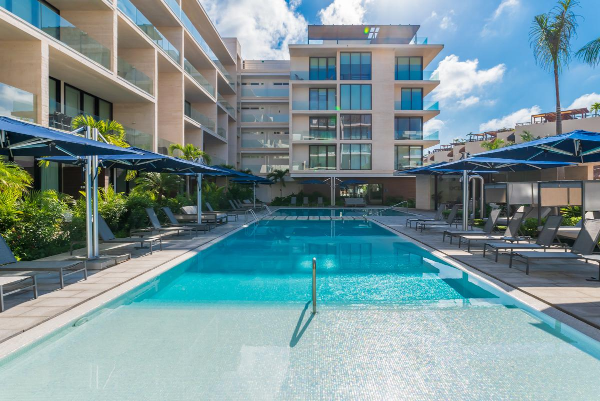 properties in playa del carmen oceana 132 2 bedroom private pool 8