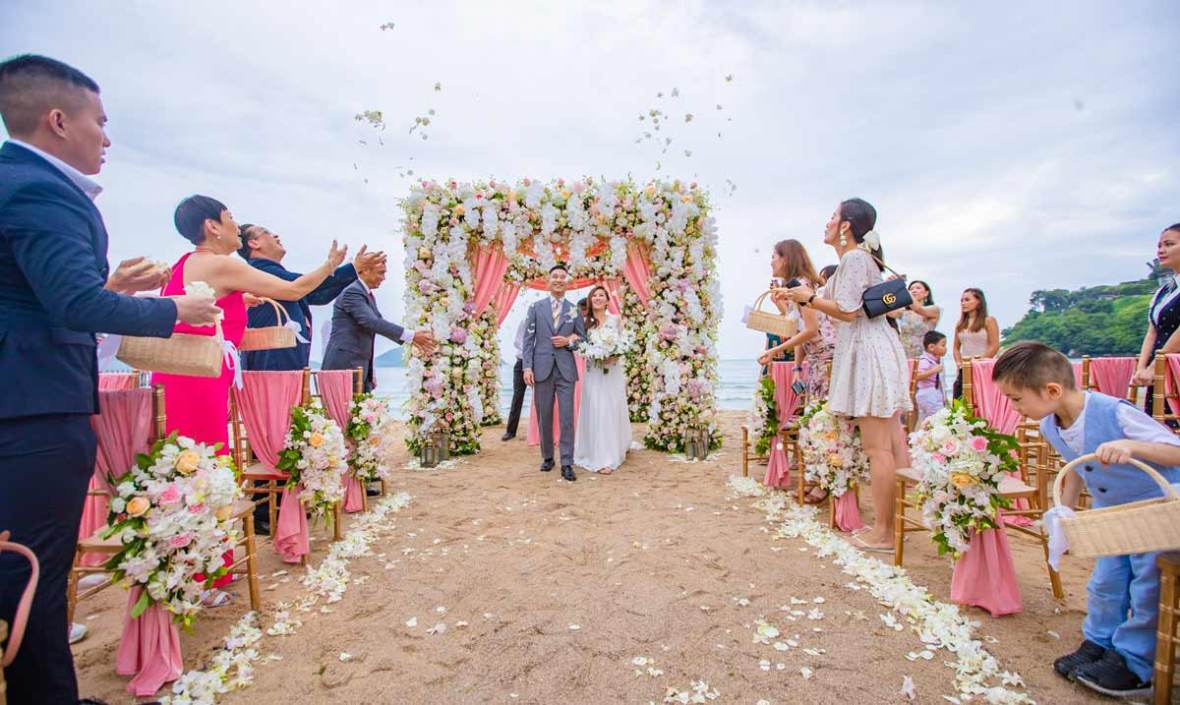 Phuket Wedding, Phuket Beach Wedding