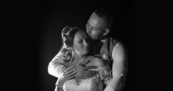 Kizzy Marie & Damian Gilbert Wedding Couple