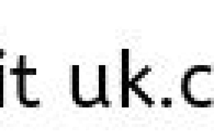 Women looking shocked at phone holding heart in her hand