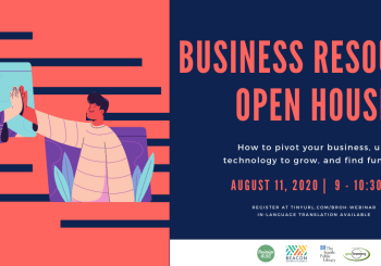 Business Resource Open House – Register today!