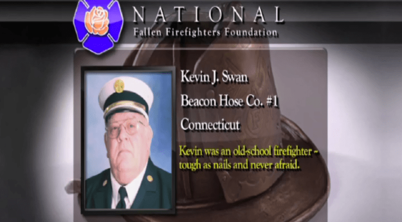 Beacon Hose Remembers Past Asst. Chief Kevin Swan