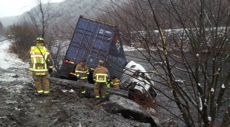 BHC Responds to Tractor Trailer Accident