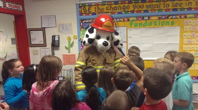 Scenes from Beacon Hose's Fire Prevention Day
