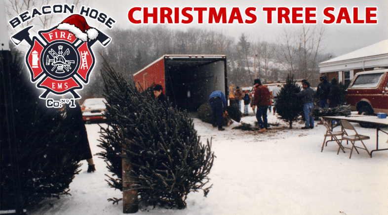 Beacon Hose's Annual Christmas Tree Sale Continues