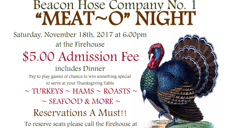 Beacon Hose Plans Return of Popular Thanksgiving Meat-O