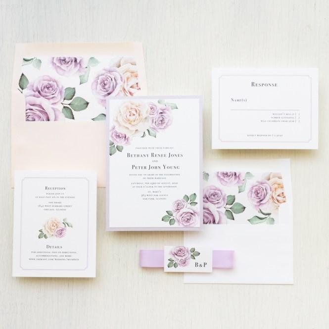 Whimsy Garden 2 Wedding Invitations