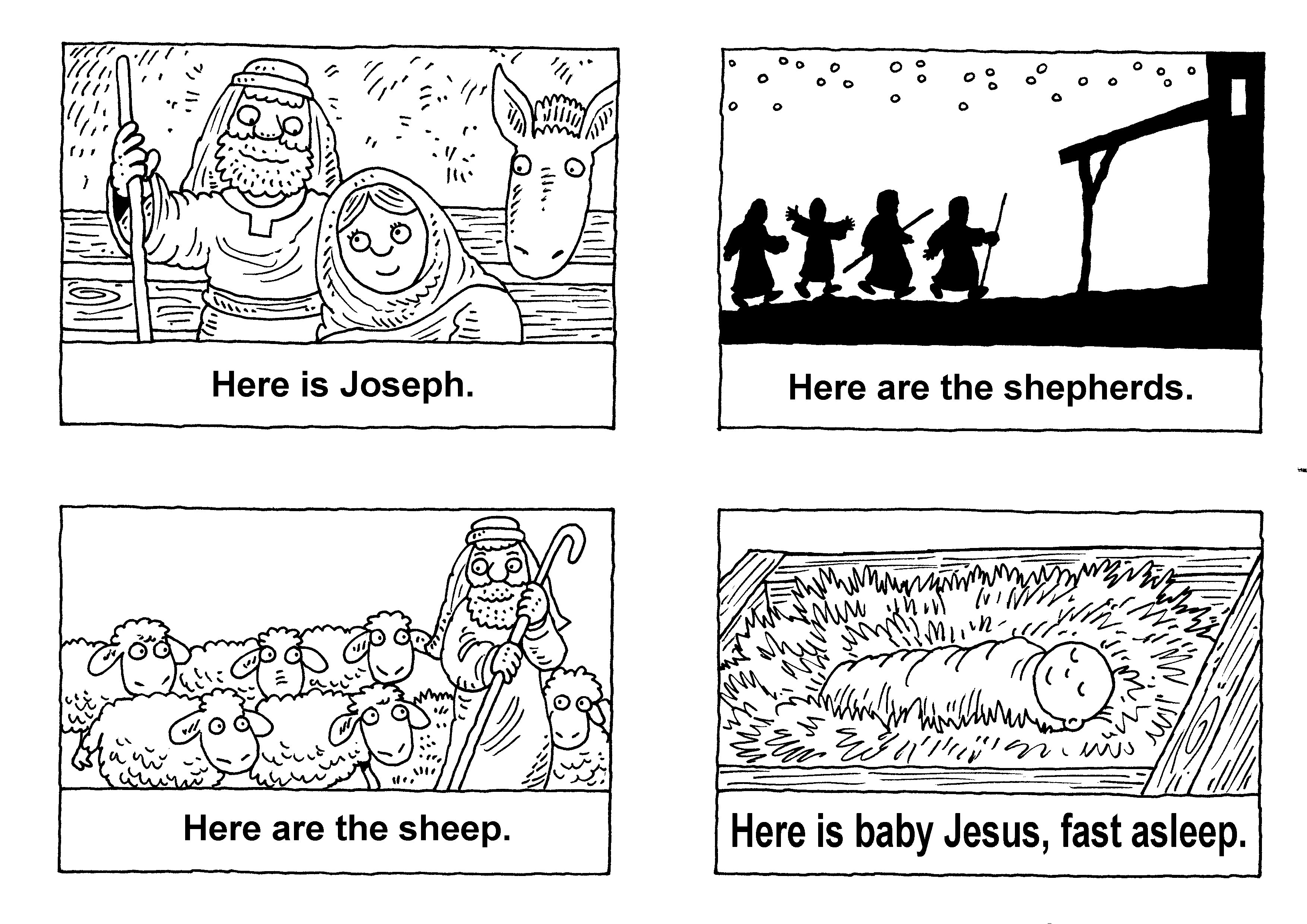 Bible Printables Coloring Pages Christian Activity Sheets