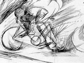 UmbertoBoccioniDynamismofaCyclist1913