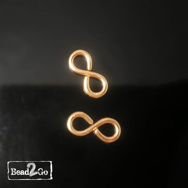 Gold Filled Infinity Small Link