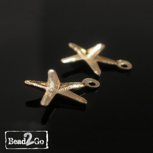 Gold Filled Starfish Pendant