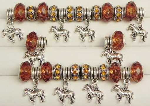 Horses European Beads Collection