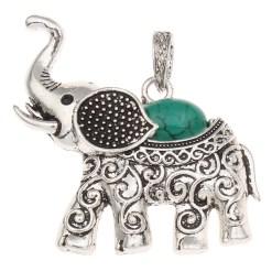1pc Elephant Pendant