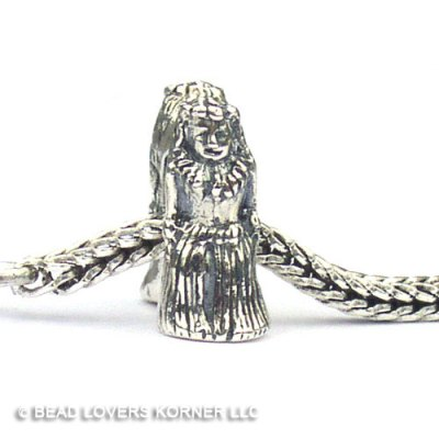 Hula Girl Landmark Bead