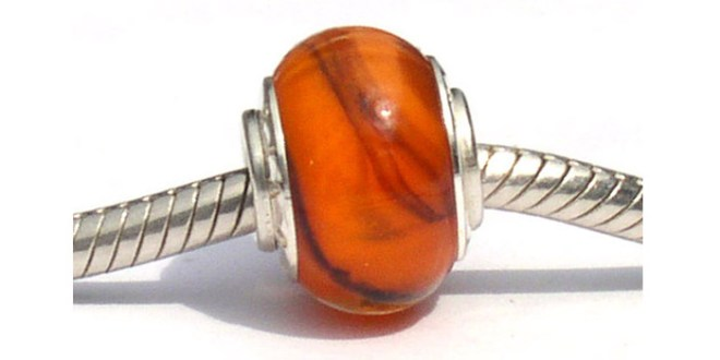 Begal Tiger Glass bead